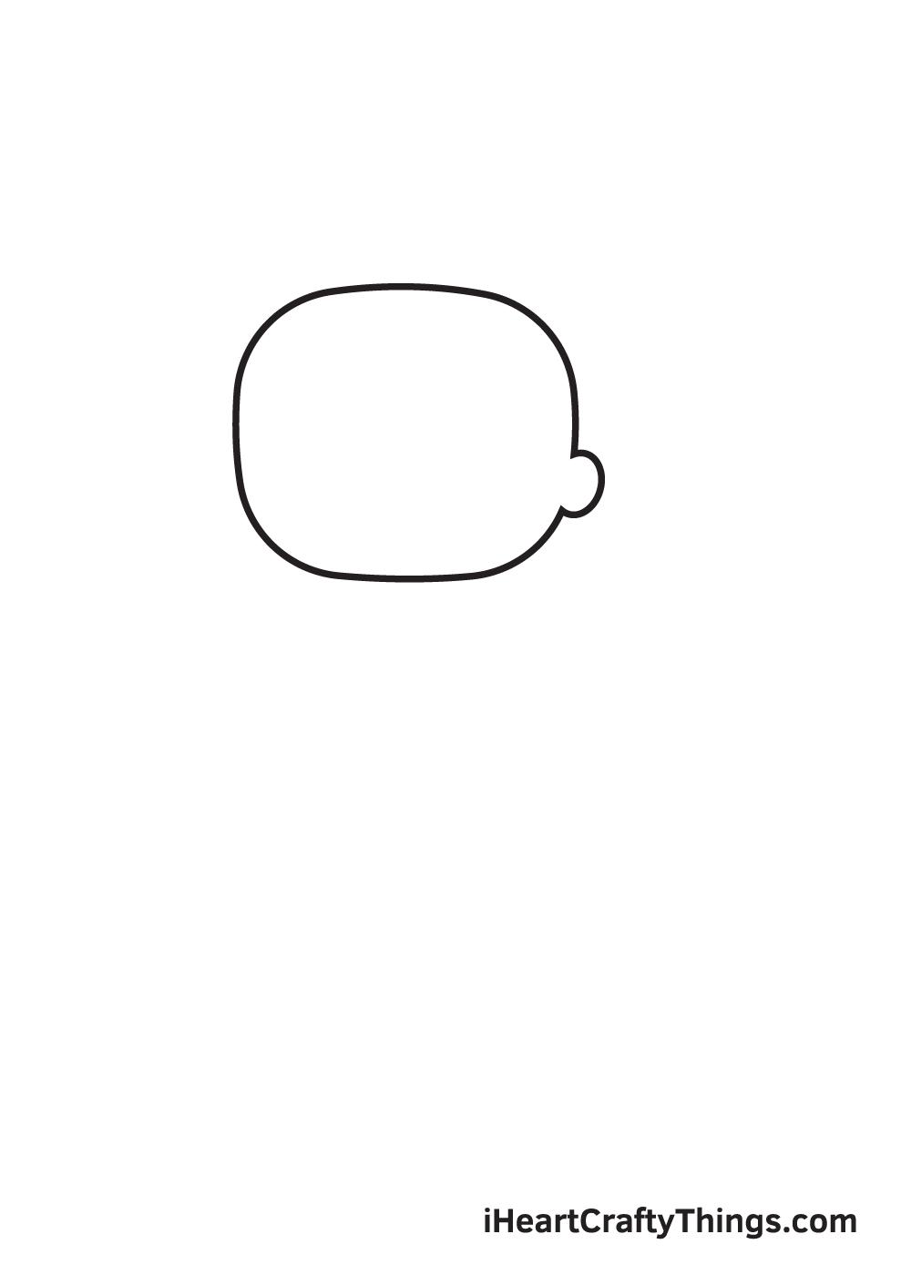 gacha life drawing step 1