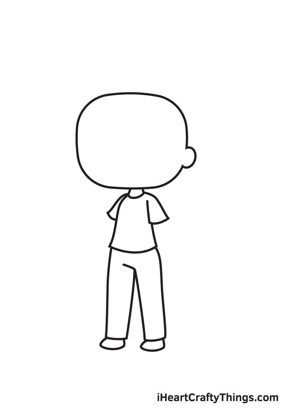 gacha life drawing step 5