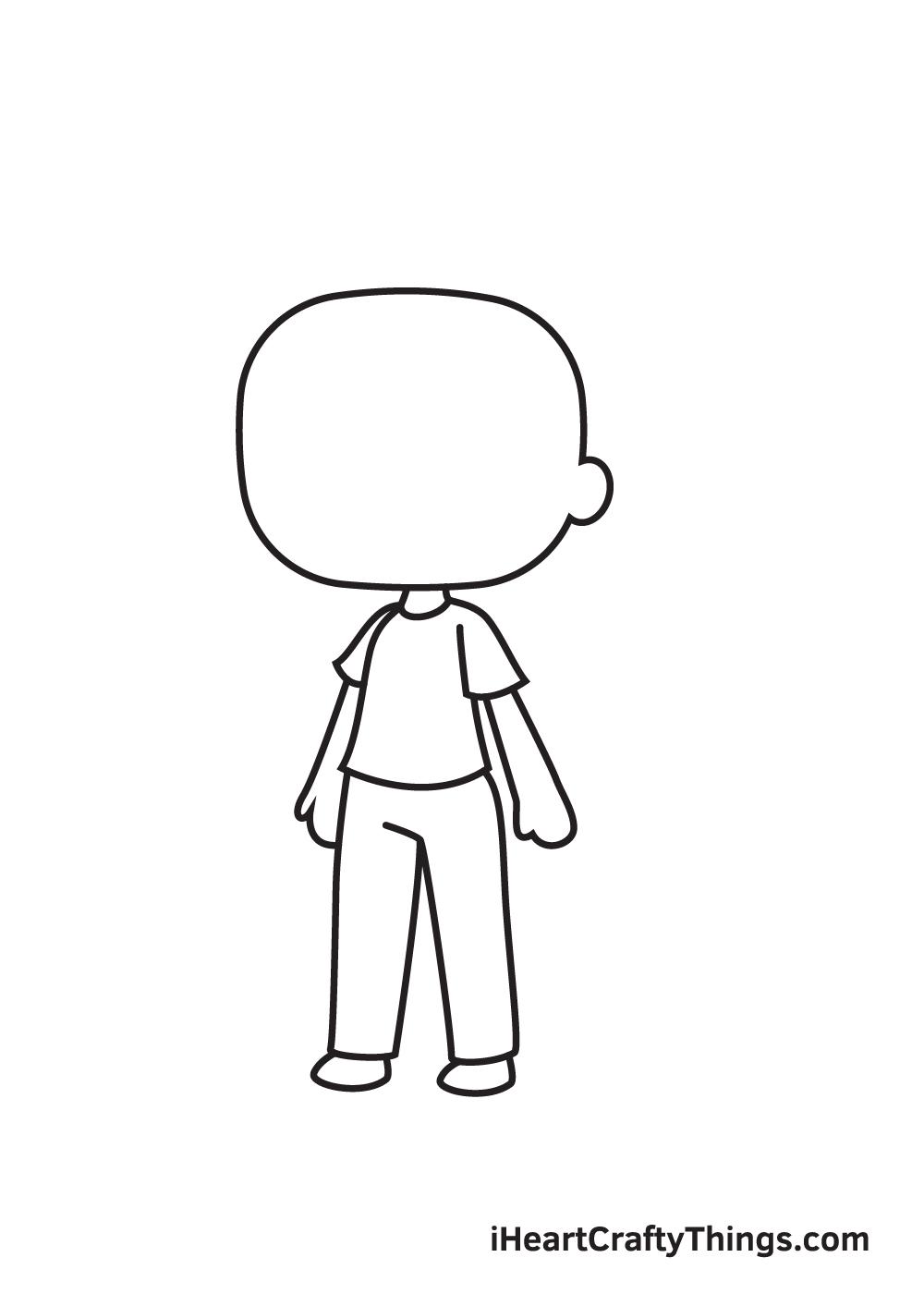 gacha life drawing step 6