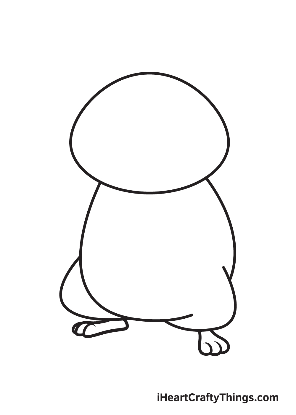 hamster drawing step 4