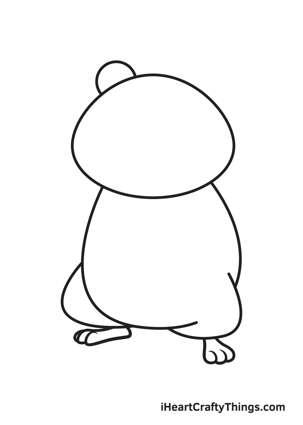 hamster drawing step 5