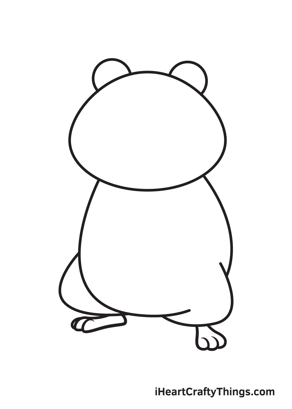 hamster drawing step 6