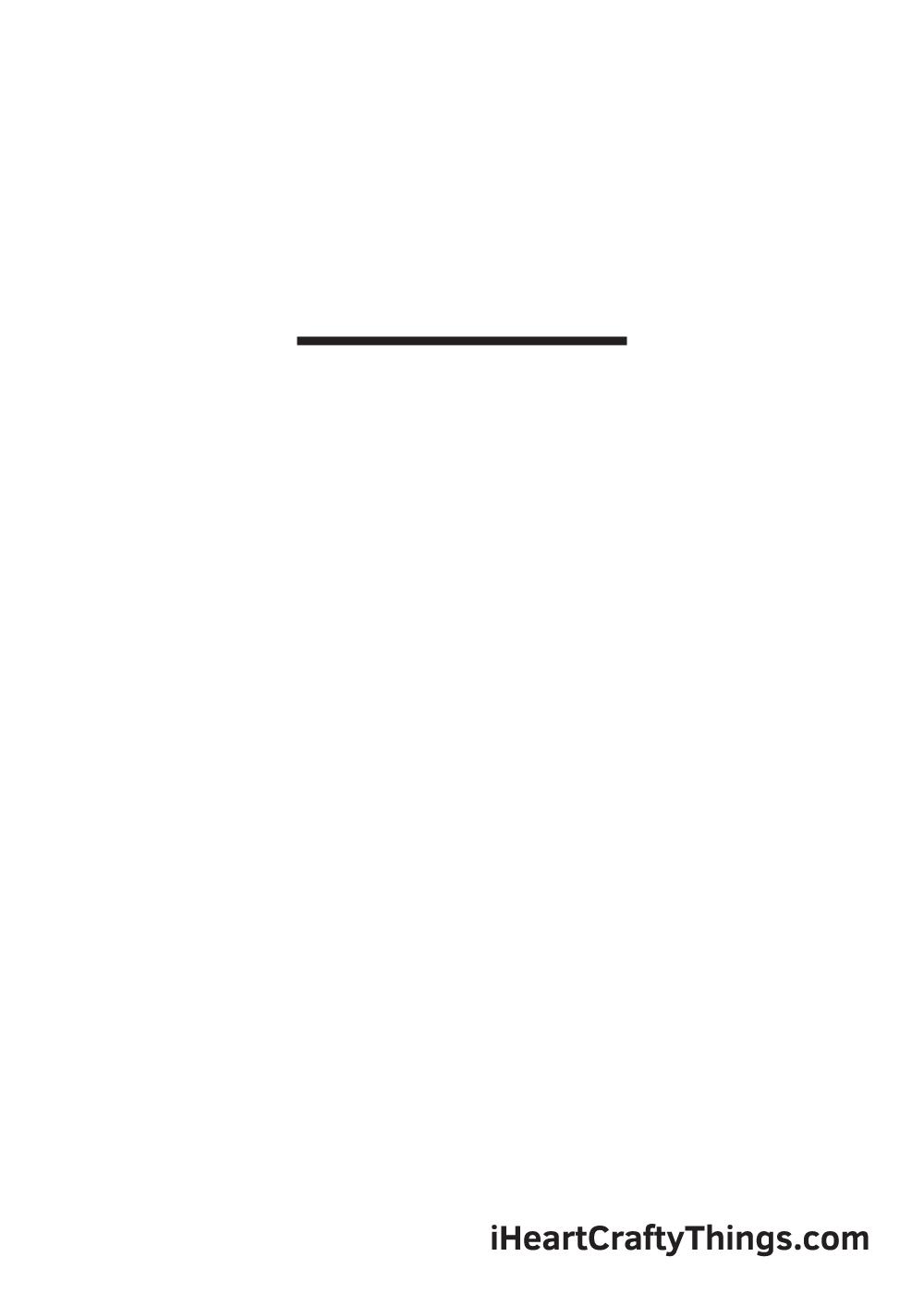 hexagon drawing step 1