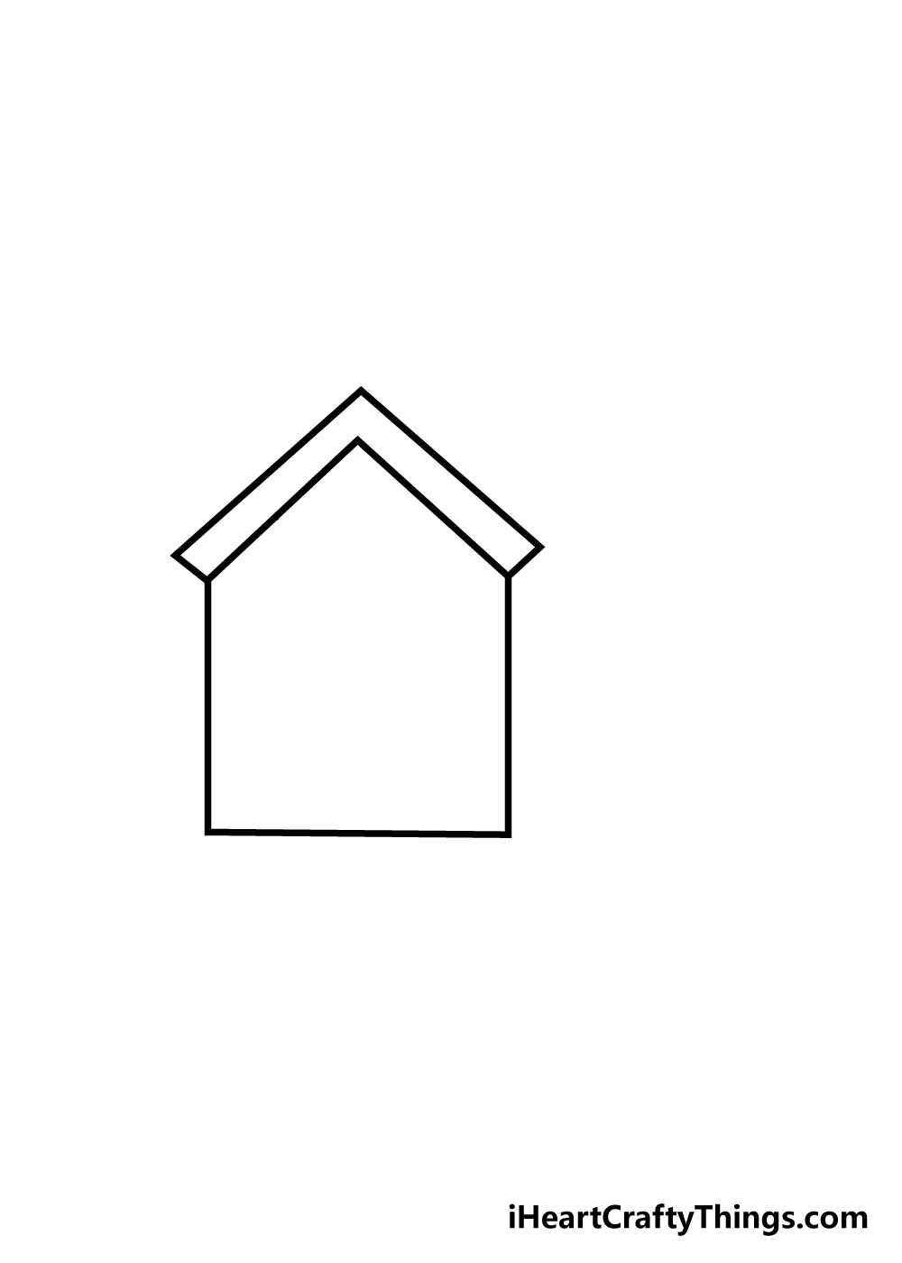 house drawing step 2