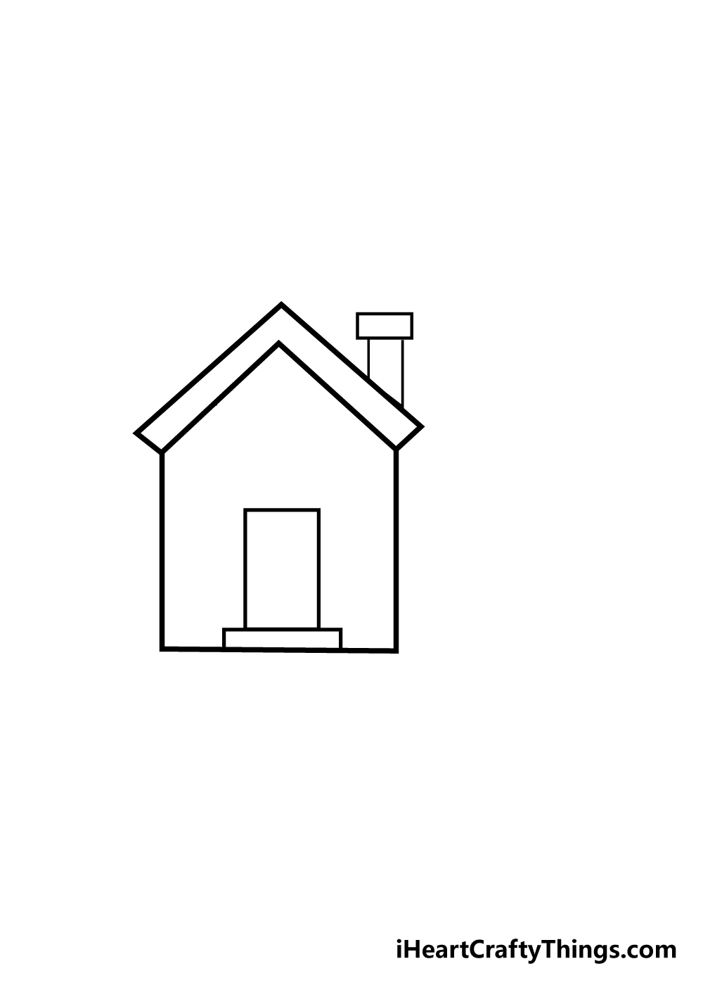 house drawing step 3