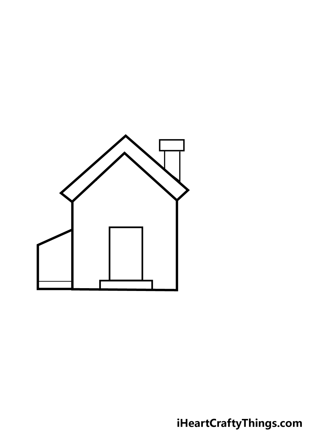 house drawing step 4