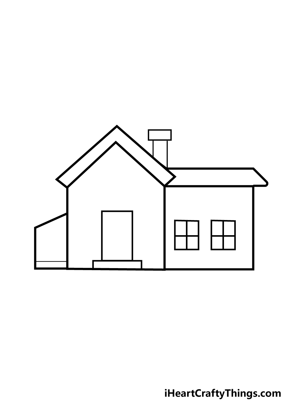 house drawing step 5