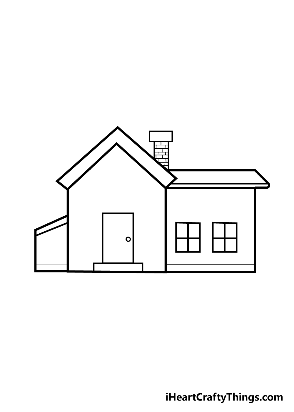 house drawing step 6