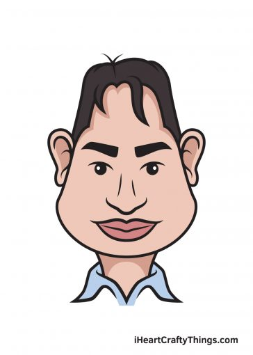 how to draw caricatures image
