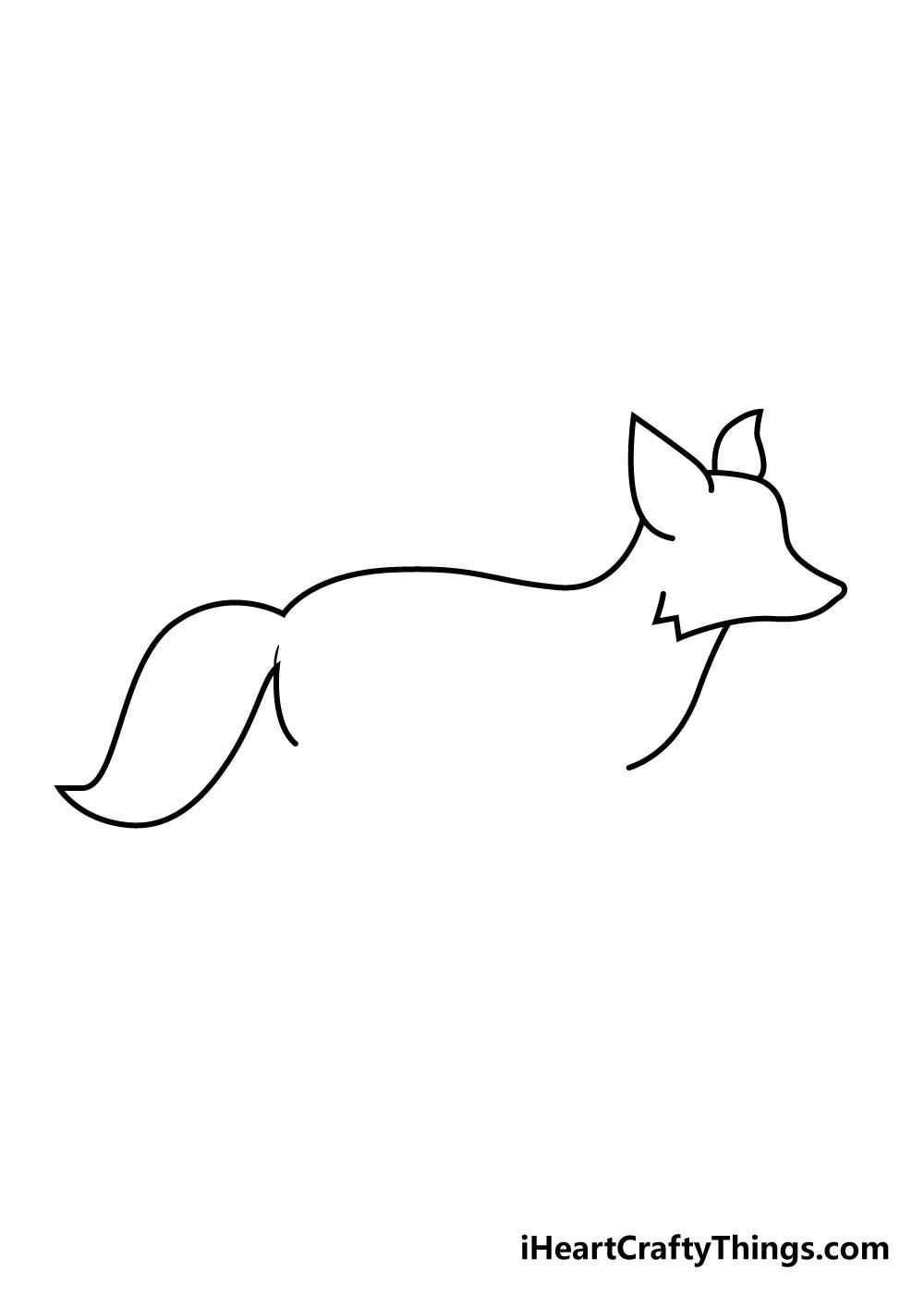 fox drawing step 3