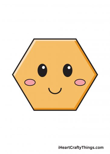 how to draw hexagon image