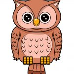 how to draw owl image