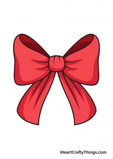 how to draw ribbon image