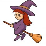 how to draw witch image