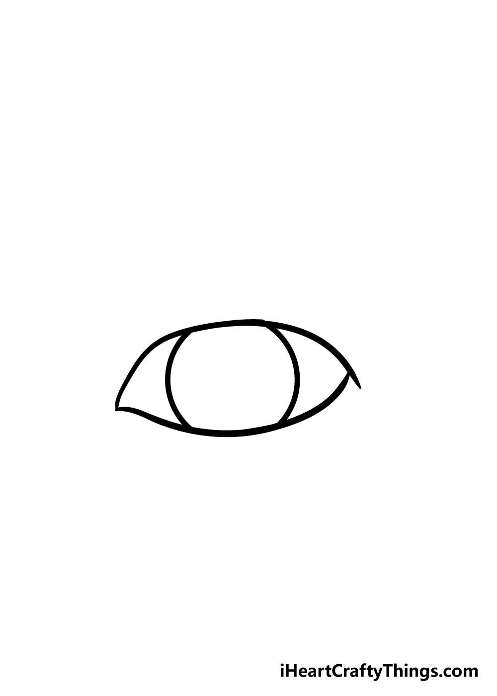 eye drawing step 2