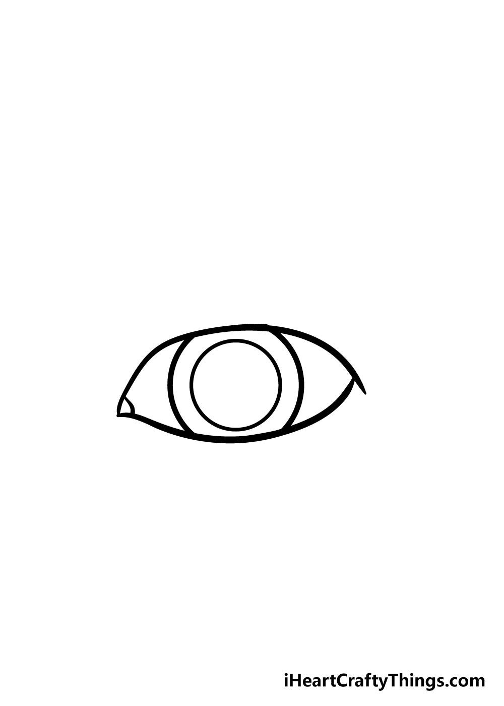 eye drawing step 3