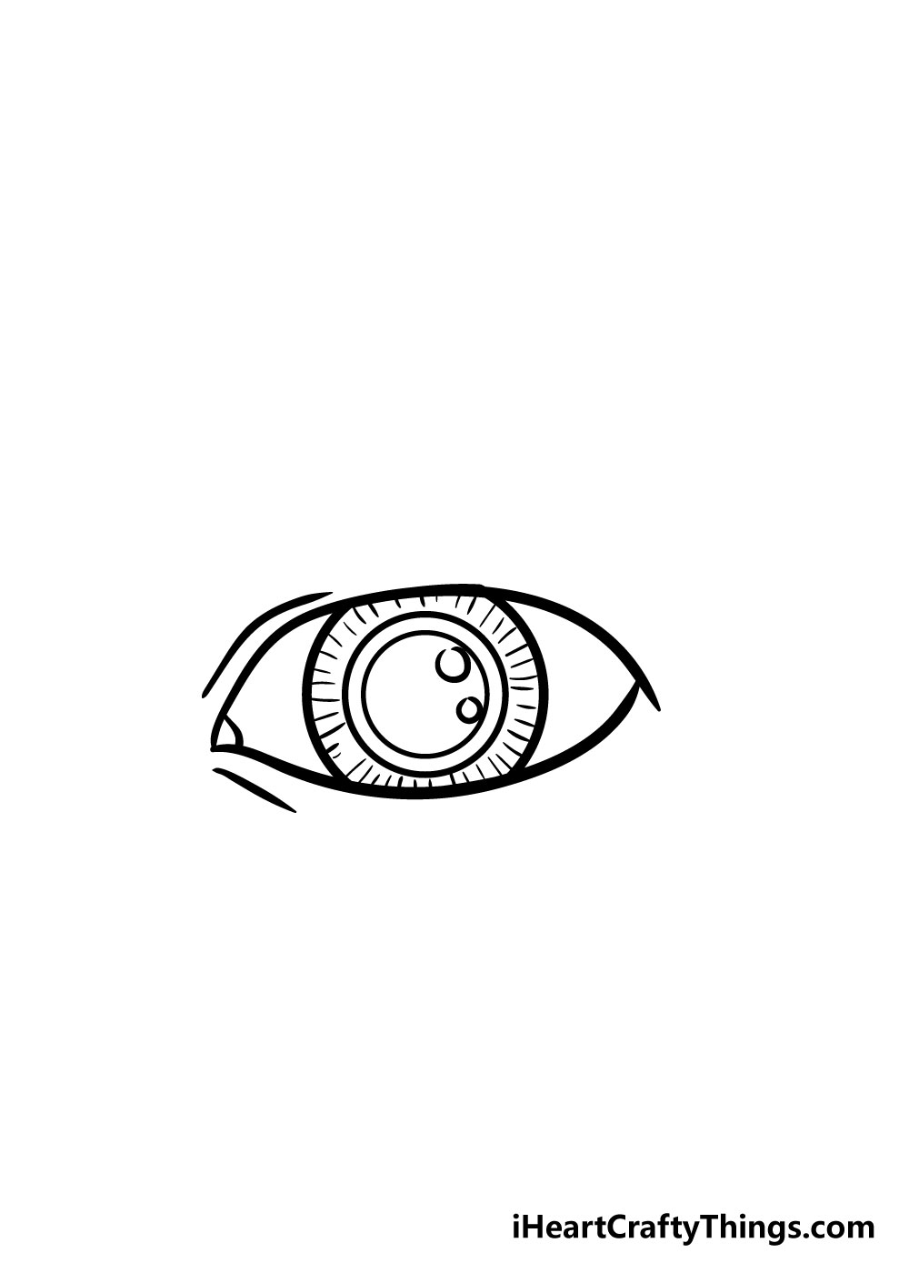 eye drawing step 5