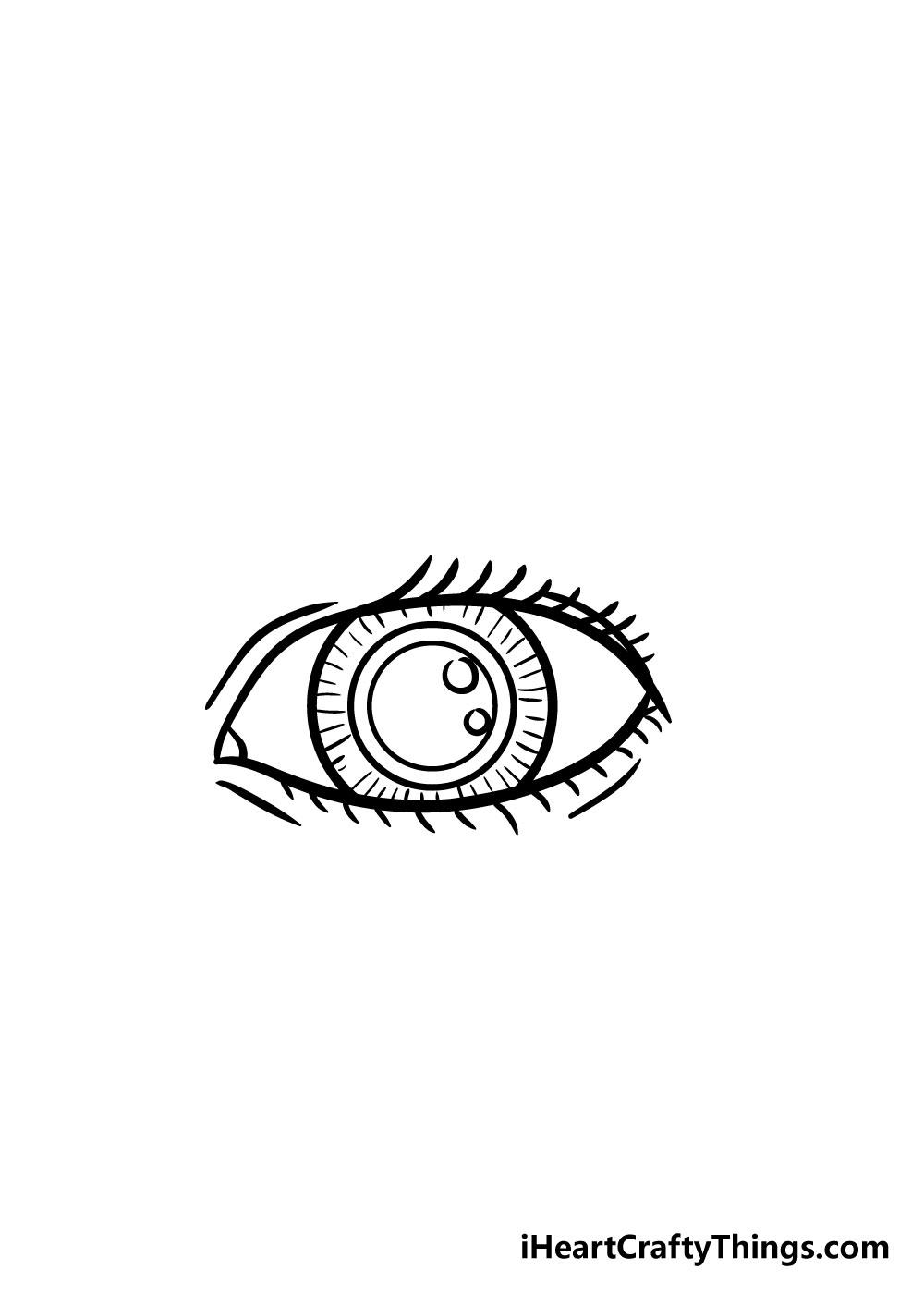 eye drawing step 6