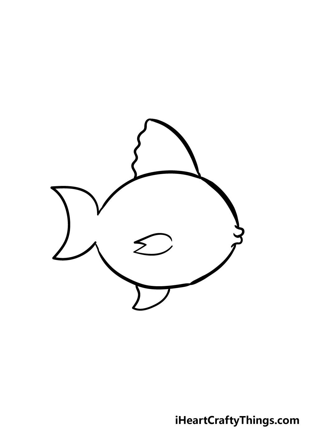 fish drawing step 4