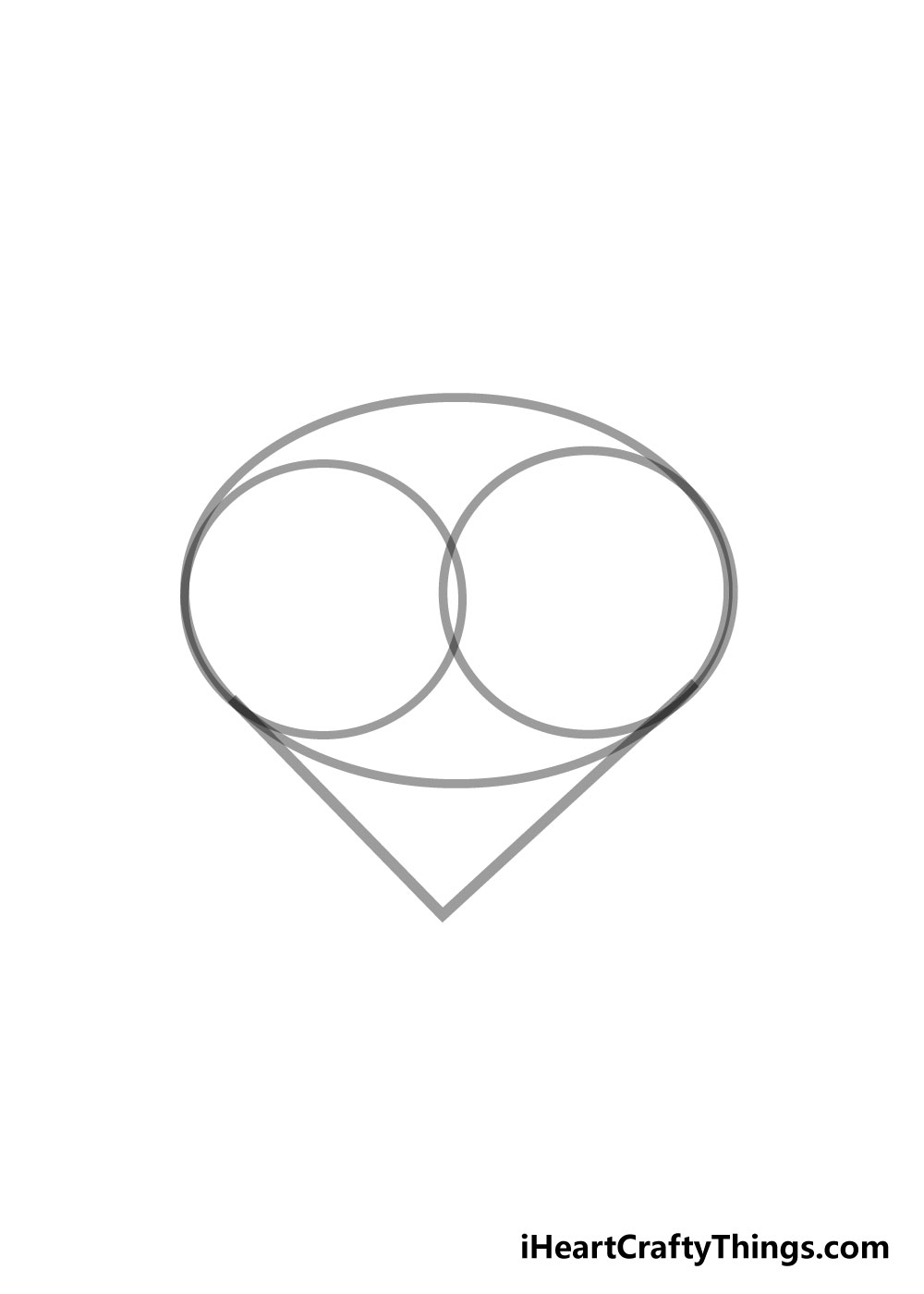 heart drawing step 3