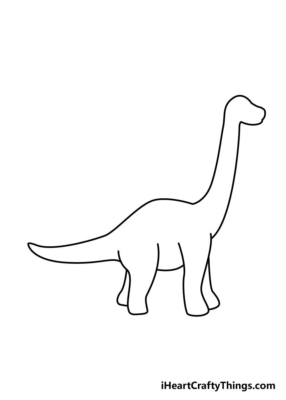 vẽ khủng long bước 6