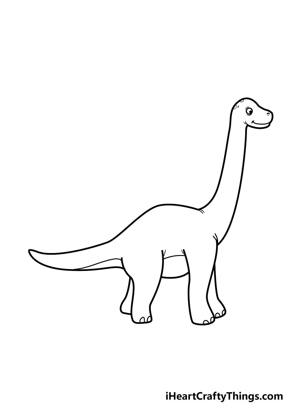 vẽ khủng long bước 7