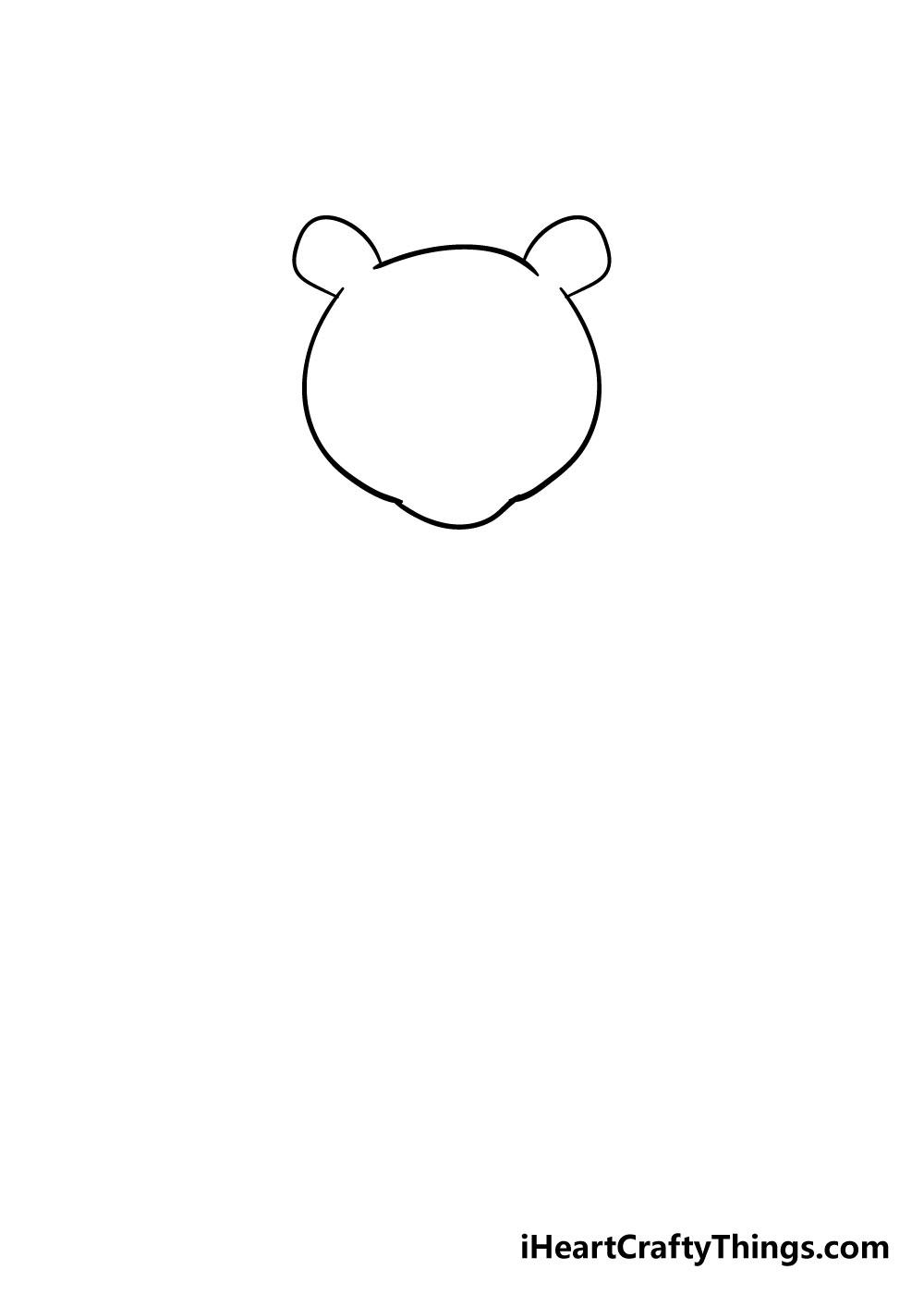 bear drawing step 2