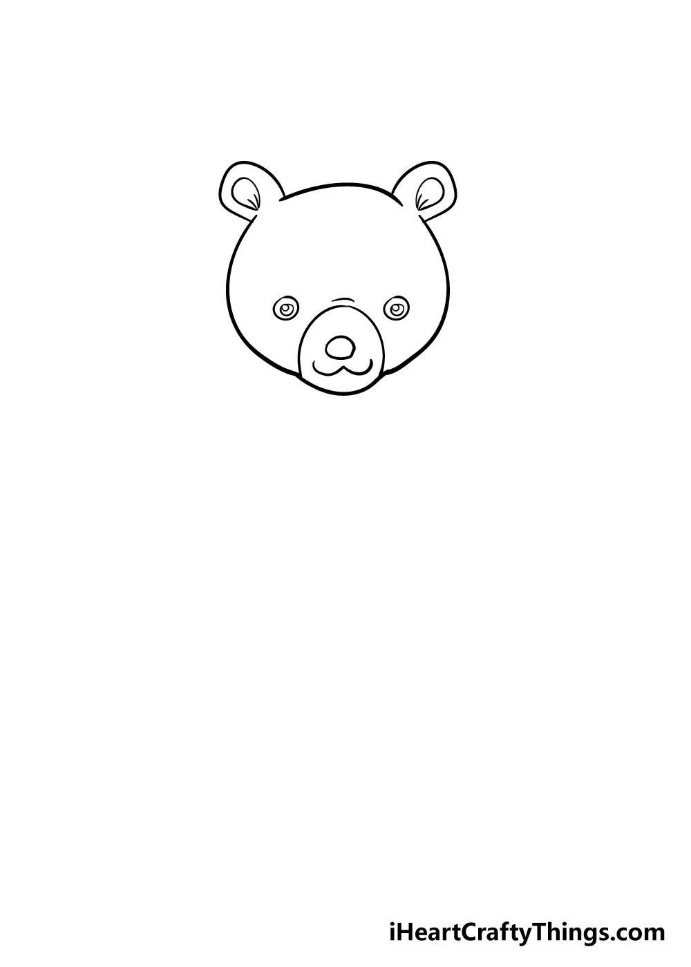 bear drawing step 3
