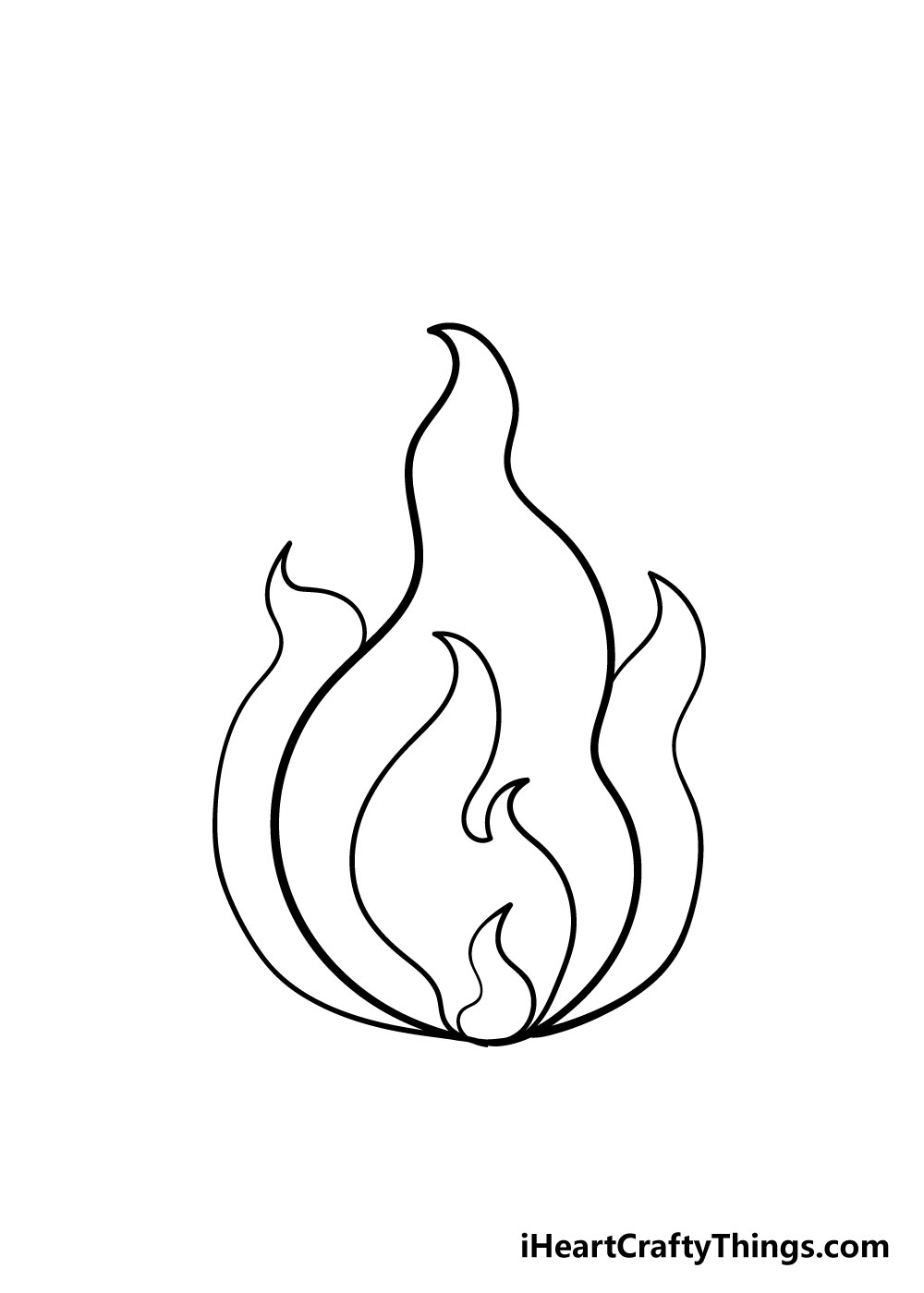 fire drawing step 4