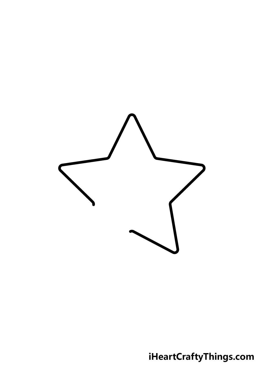 vẽ ngôi sao bước 4