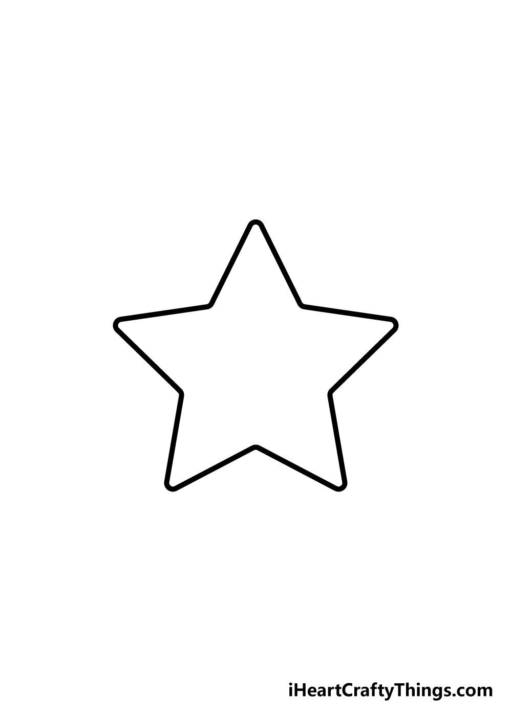 vẽ ngôi sao bước 5