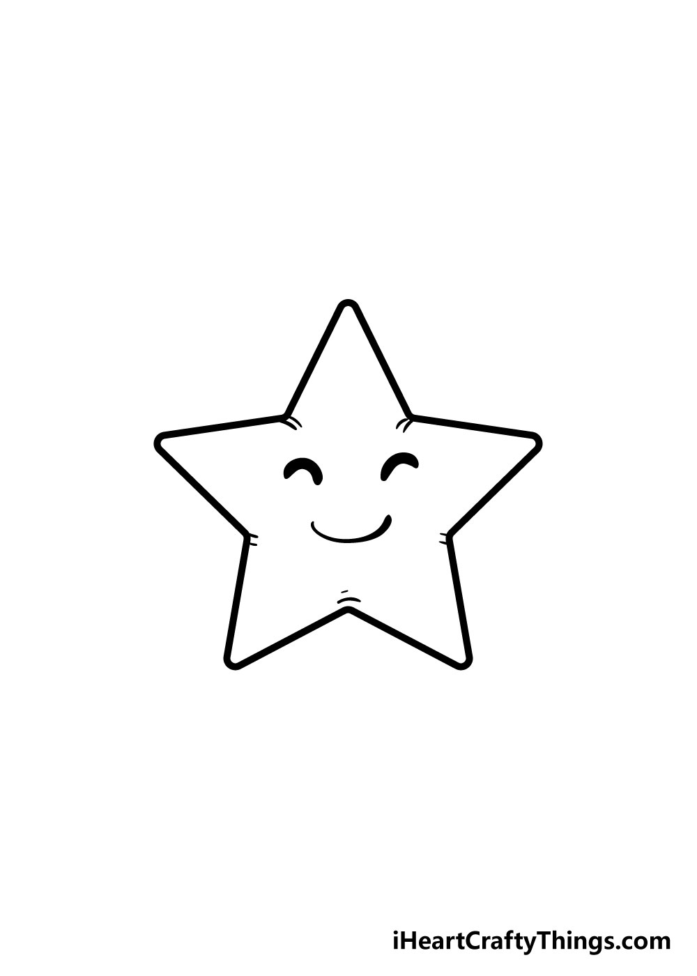 vẽ ngôi sao bước 6