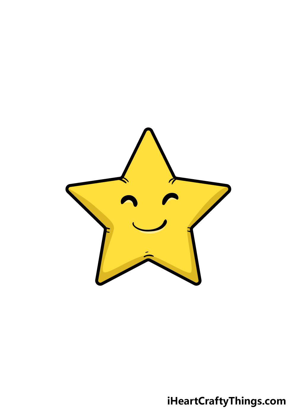 vẽ ngôi sao bước 7