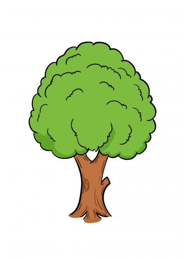 how to draw tree image