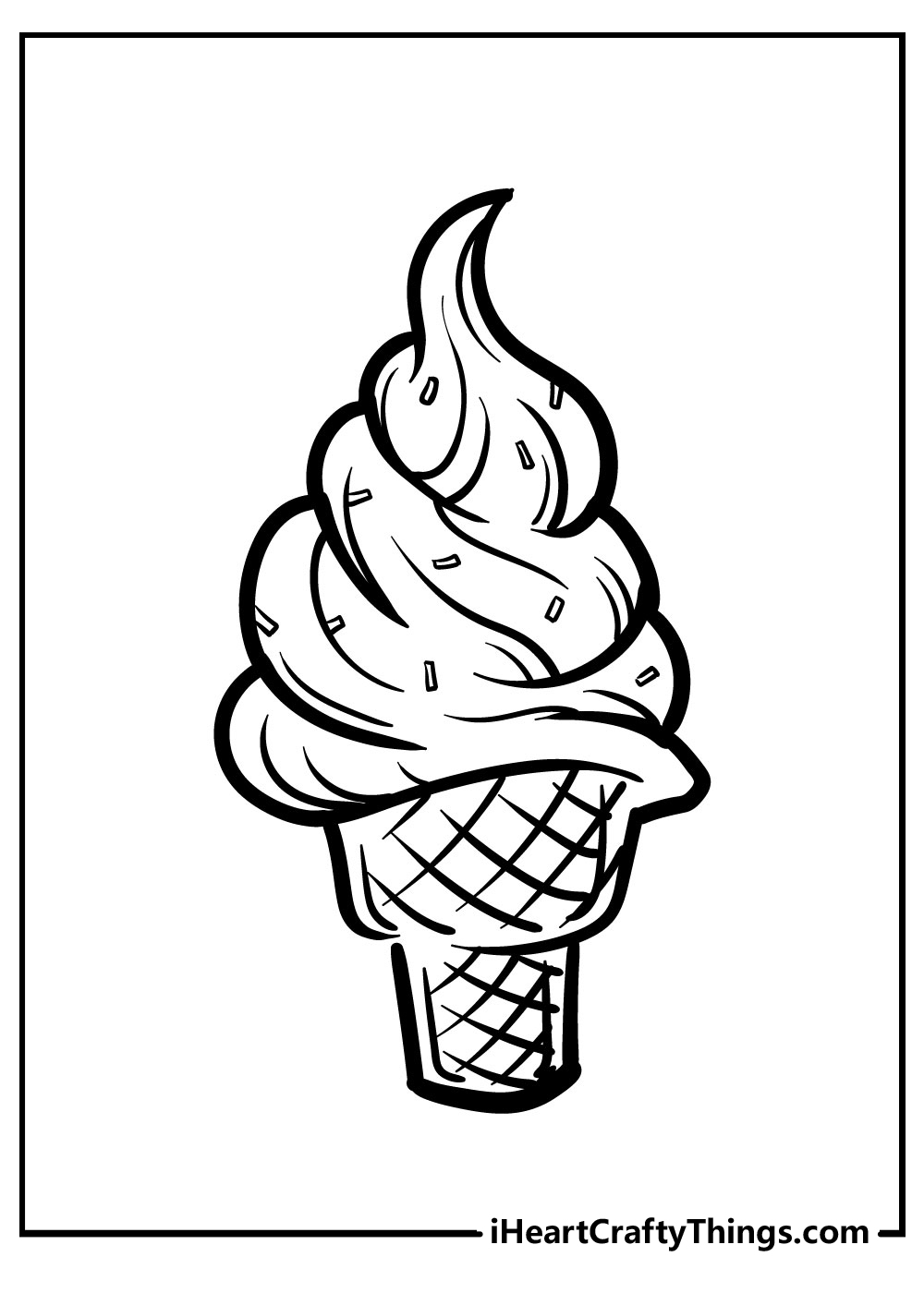 peppa pig ice cream coloring pages