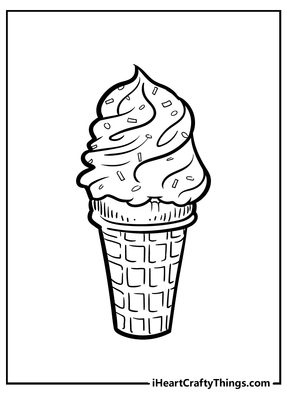 free printable ice cream coloring pages for boys