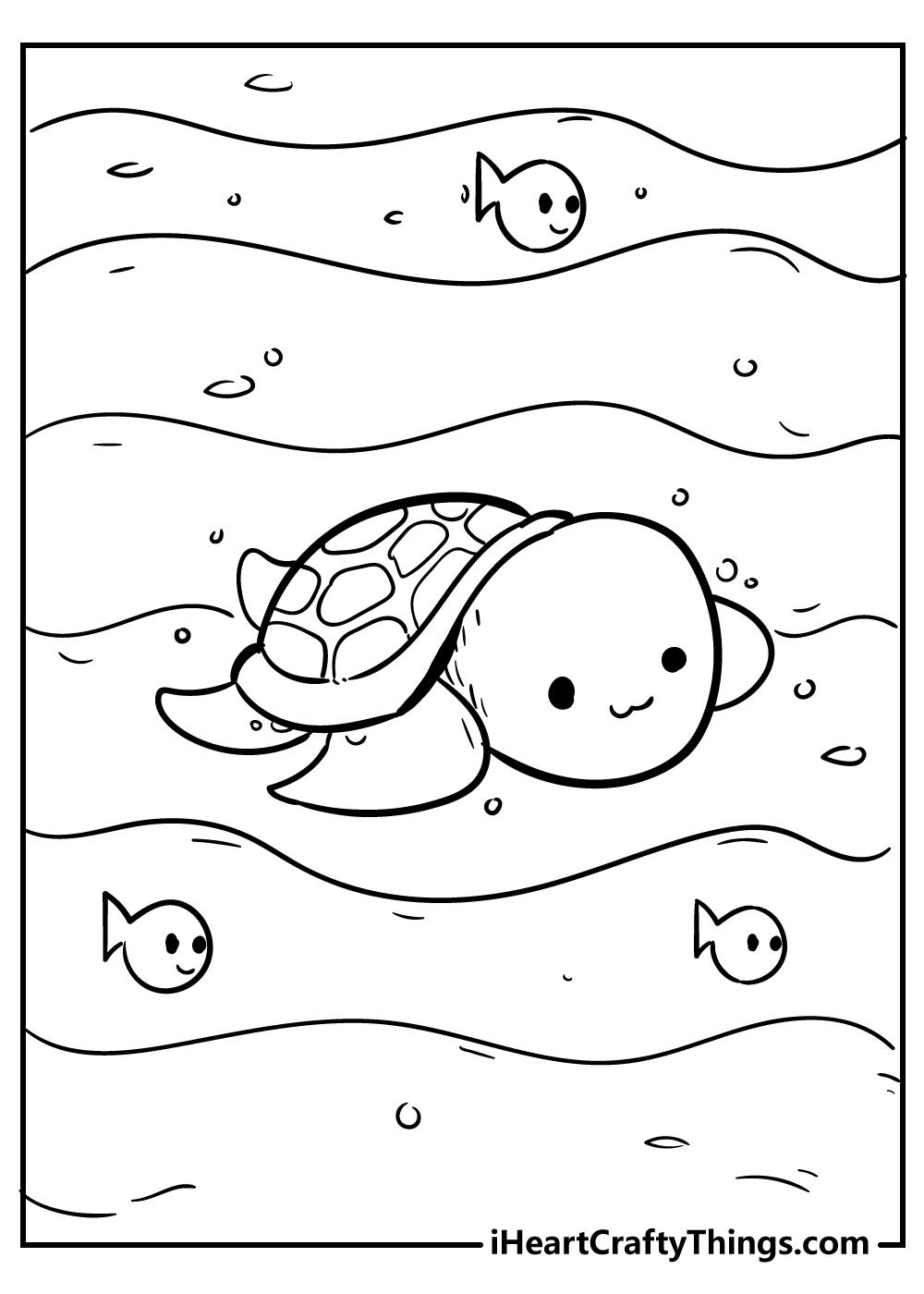 kawaii coloring pages i can print
