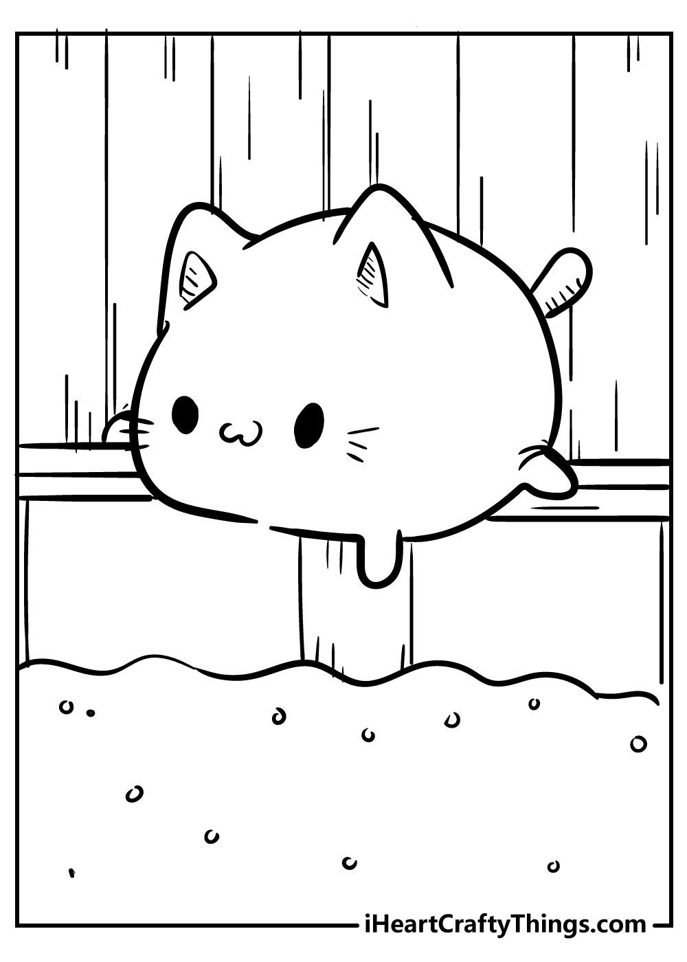 hamster kawaii coloring pages for kids free download