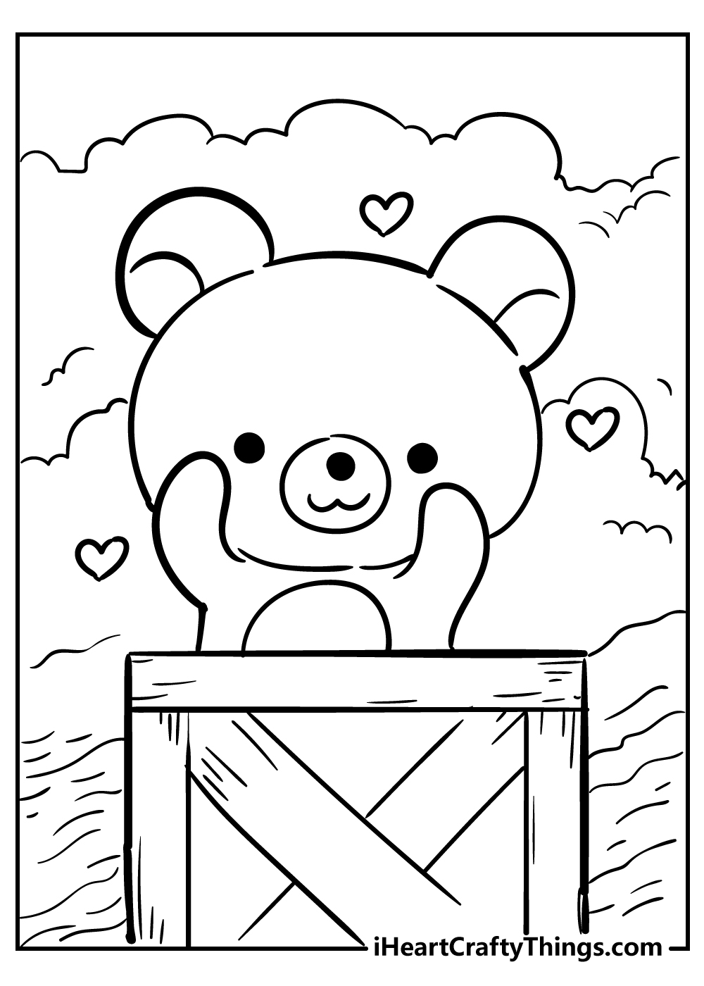 new kawaii coloring pages for kids download free