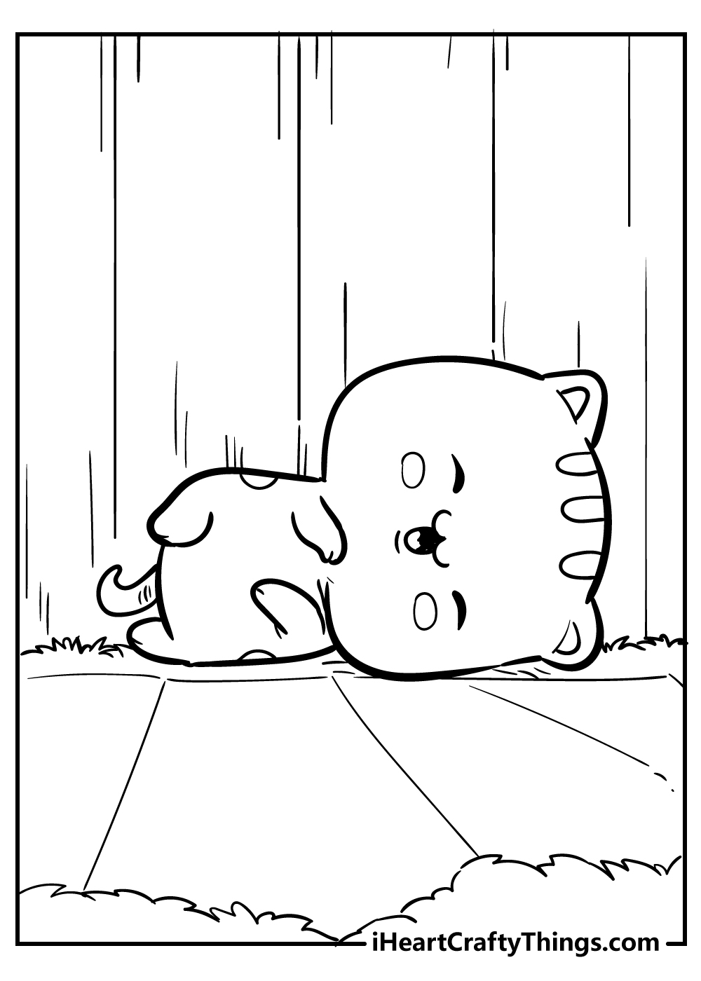 kawaii coloring pages free download