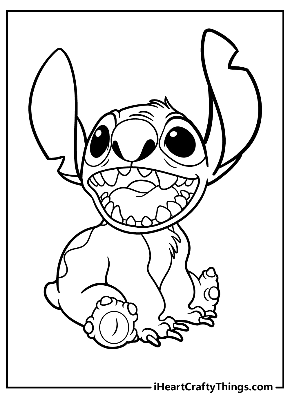 lilo stitch coloring pages free printable