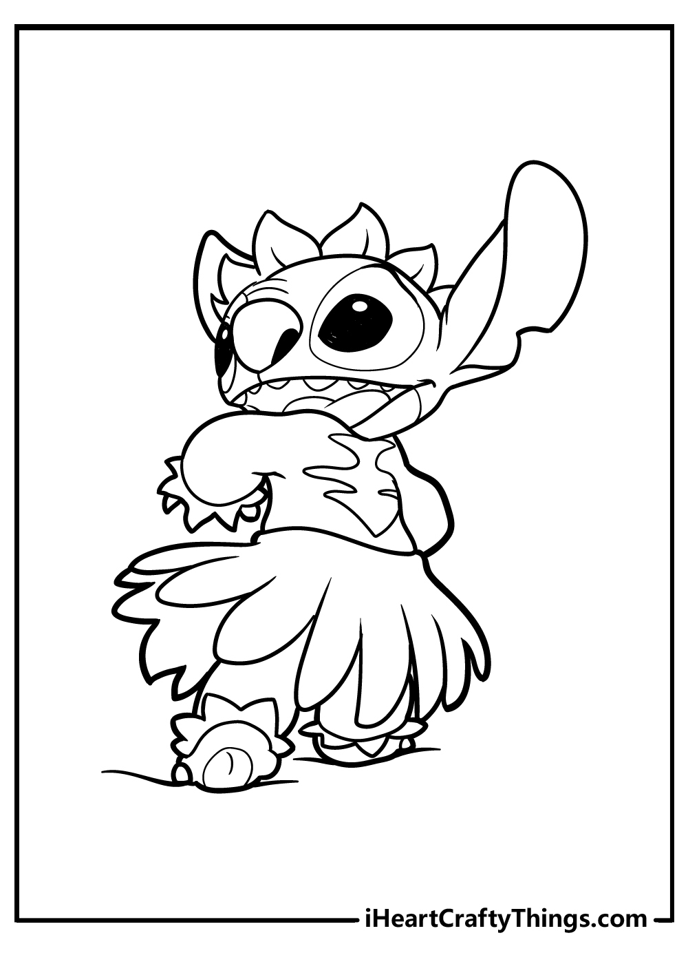 stitch printable coloring pages free download