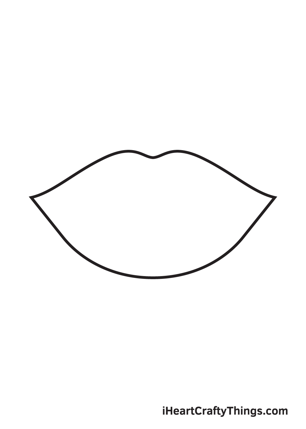 lips drawing step 4