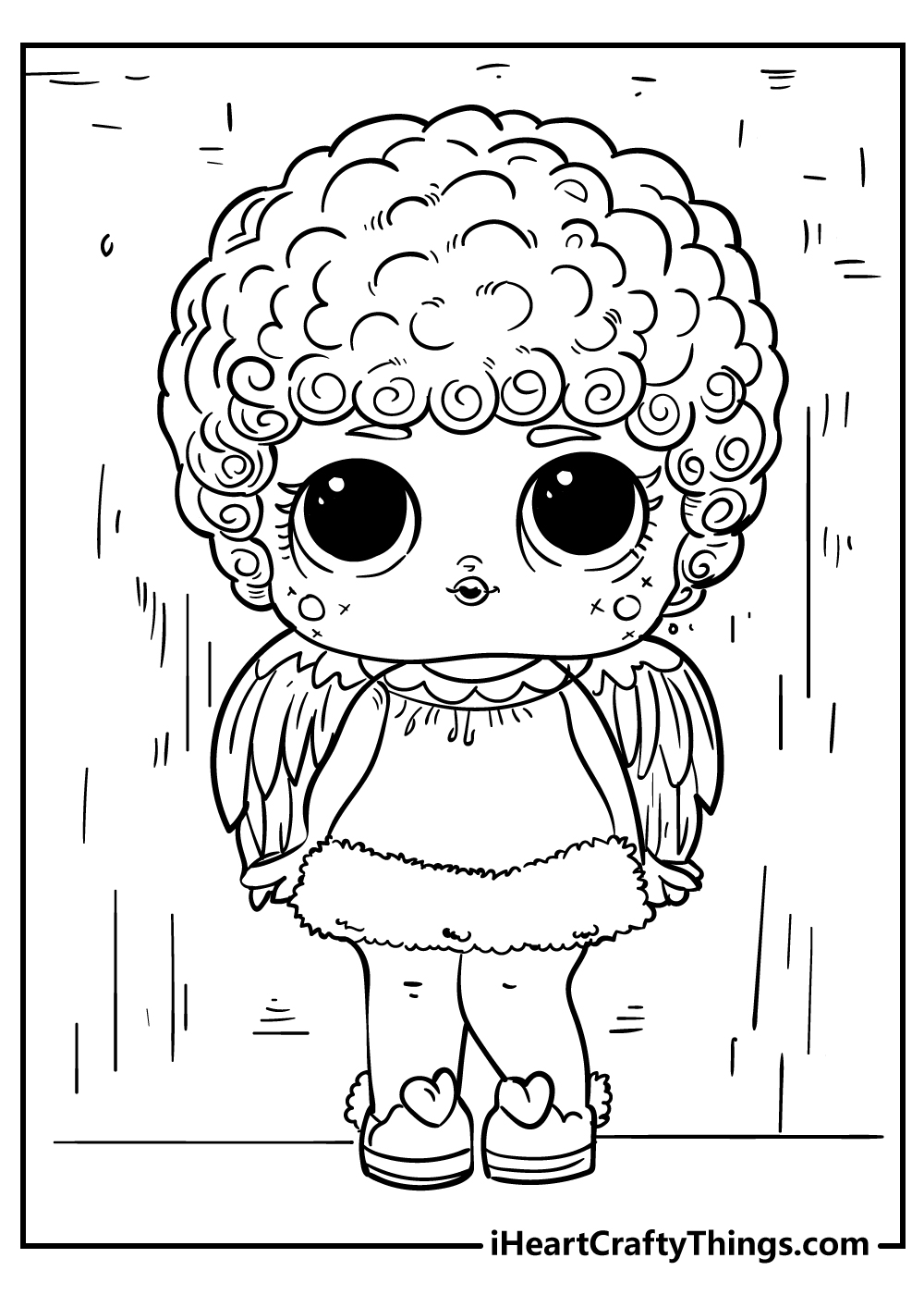 lol surprise colouring pages free printable