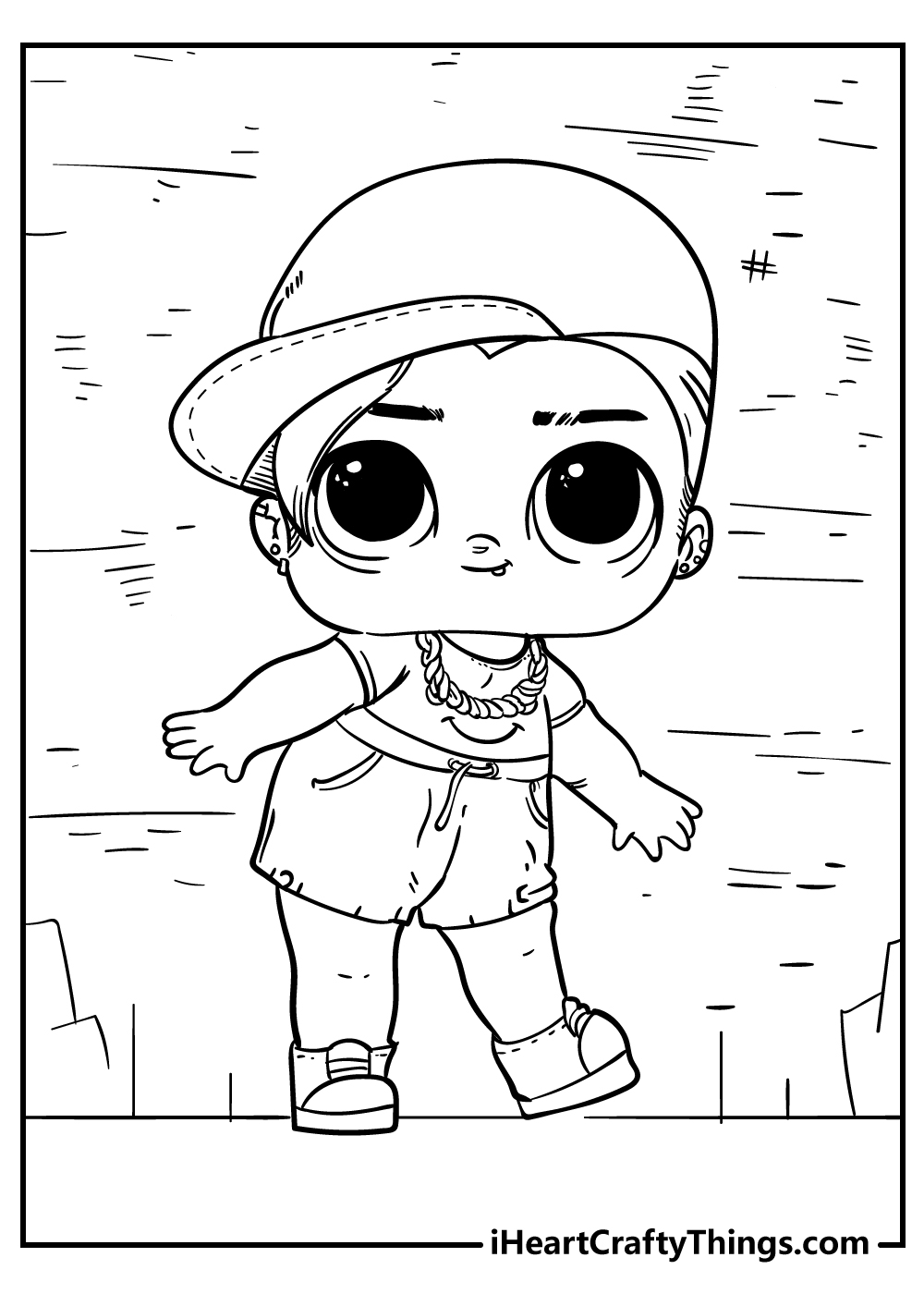 omg lol doll coloring pages free download