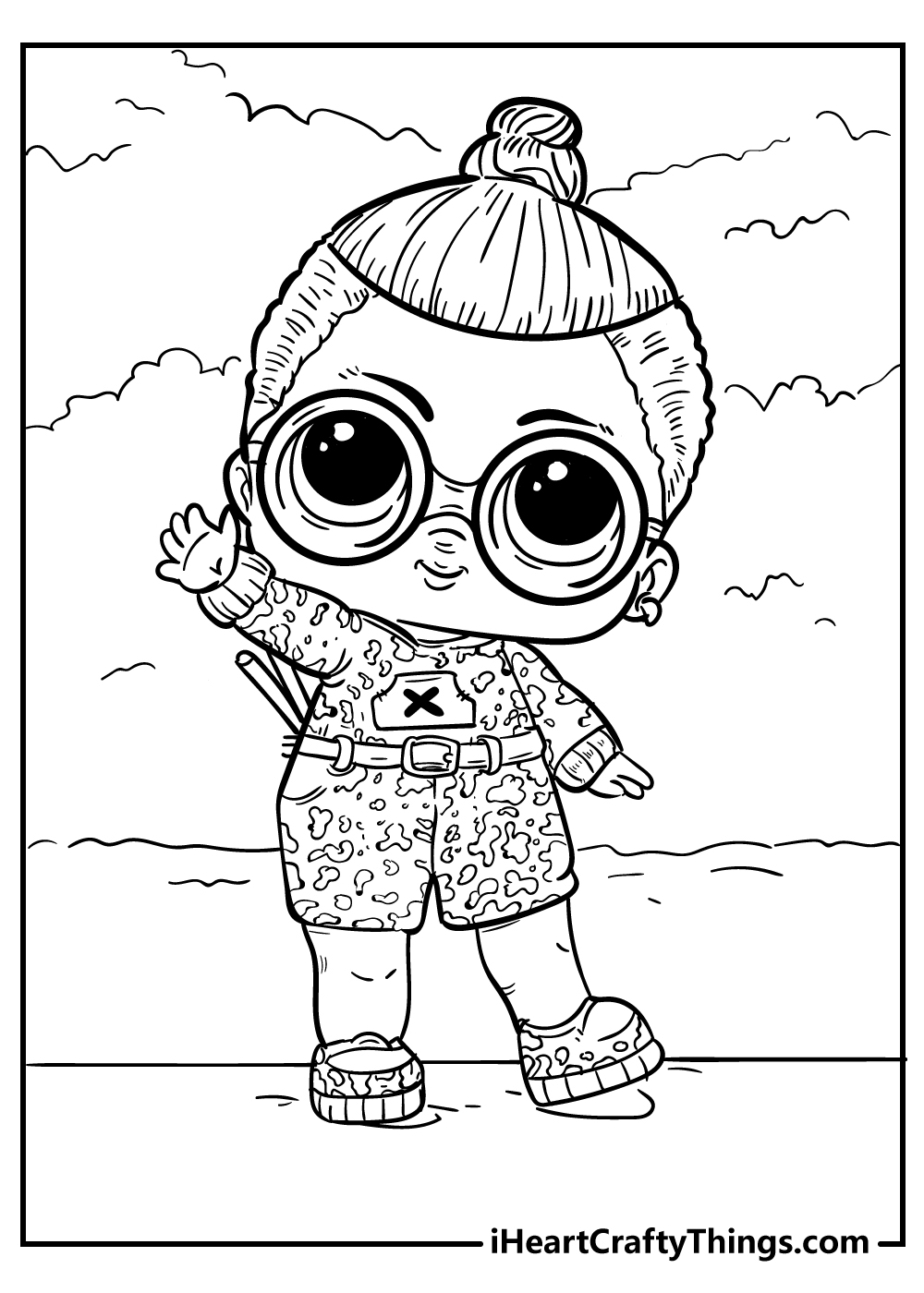lol surprise coloring pages free download
