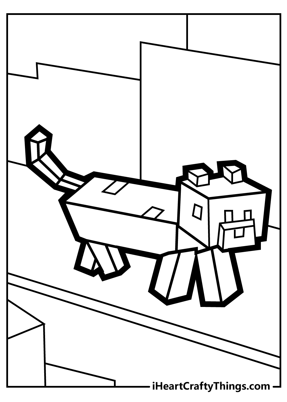 cute minecraft coloring pages free printable