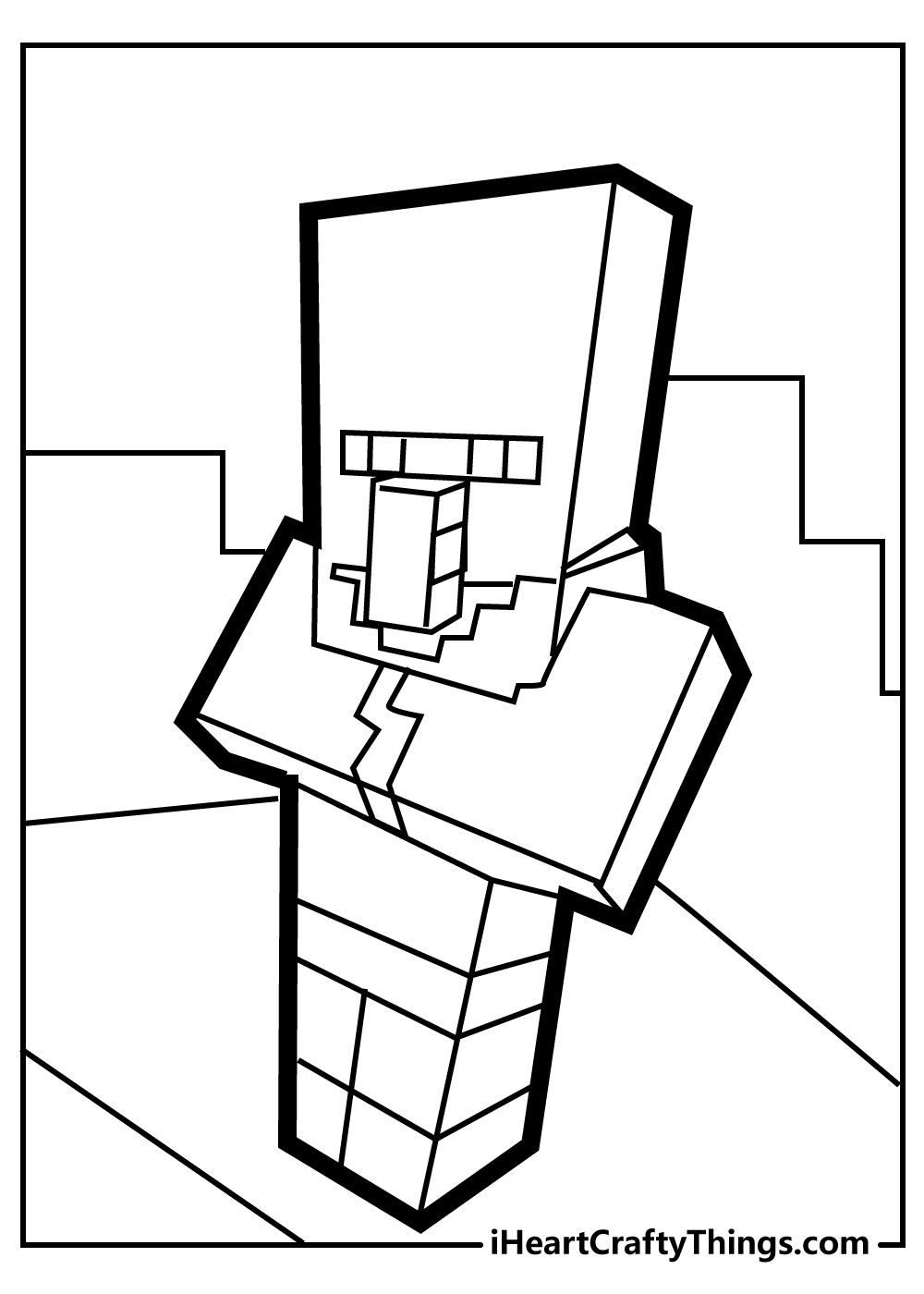 minecraft coloring pages free pdf for adults