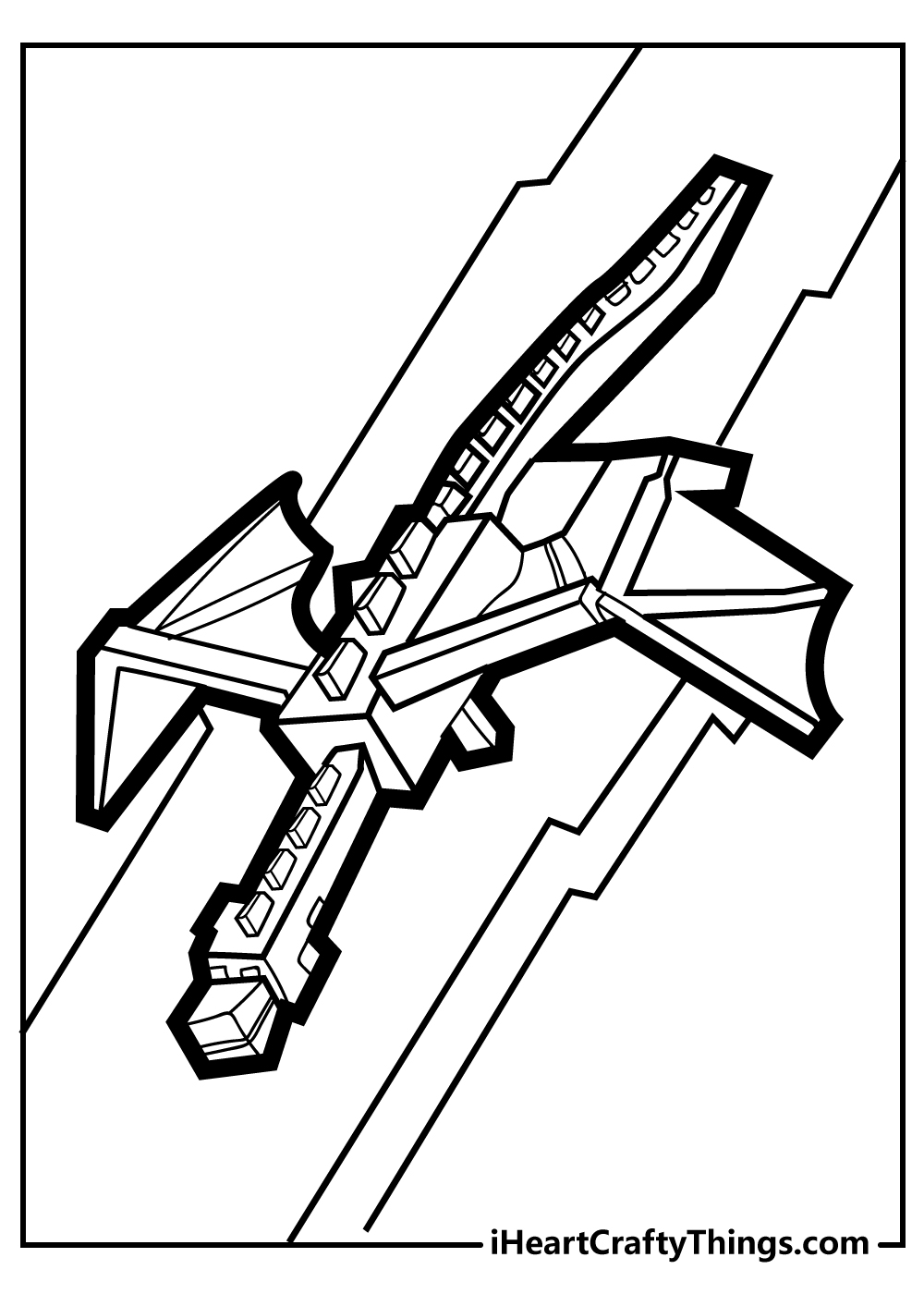 printable minecraft colouring pages for teenagers