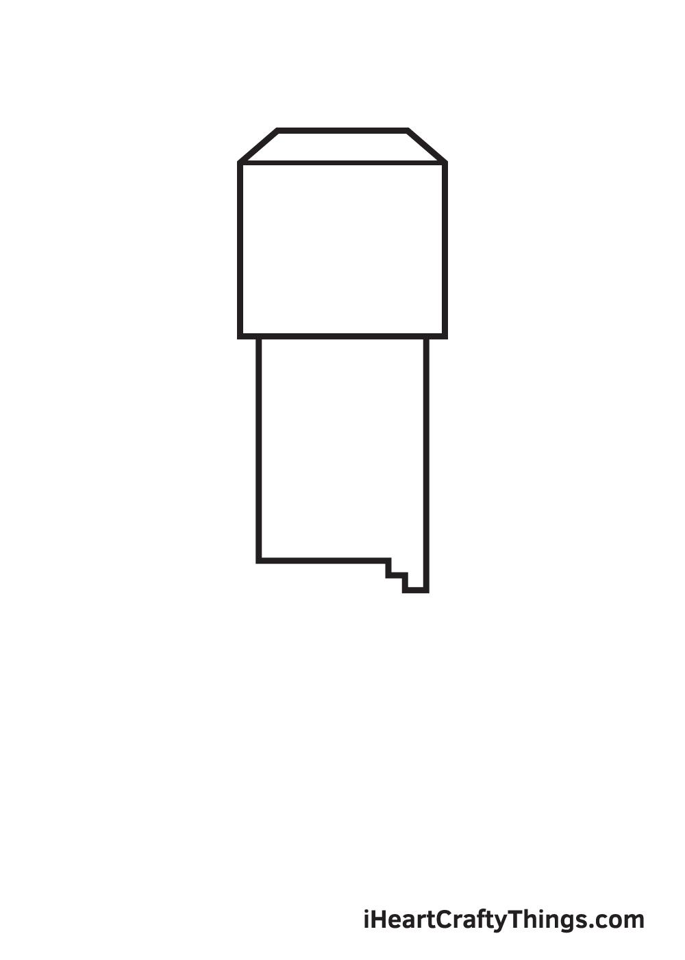 minecraft drawing step 2